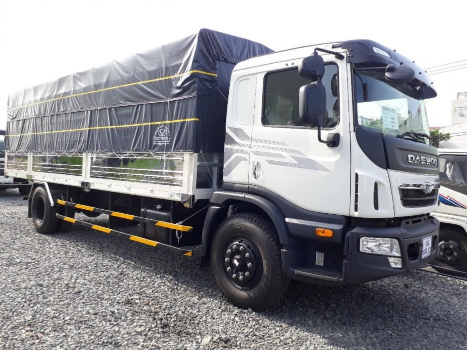 Xe tải deawoo prima 9 tấn mui bạt