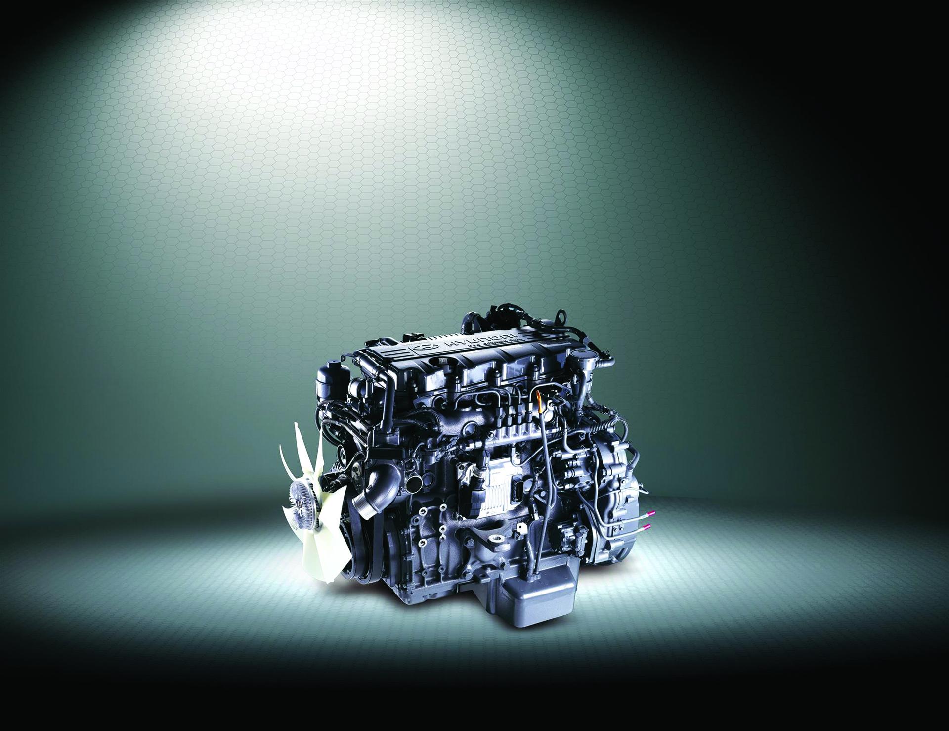 Động cơ Hyundai Mighty 75s