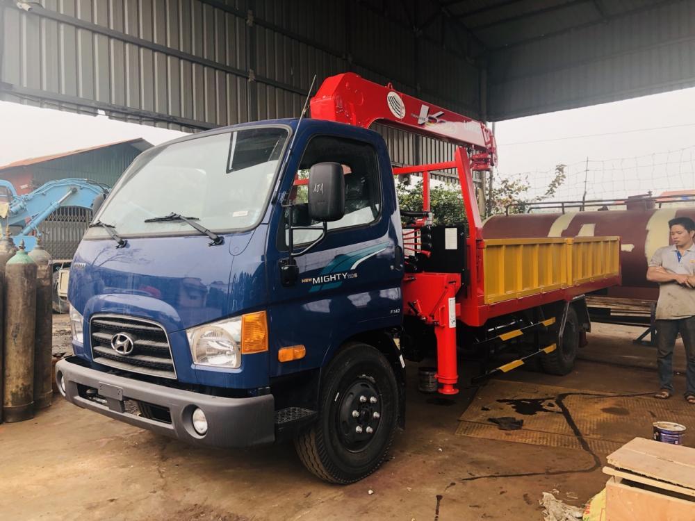 Xe tải Hyundai 110S Gắn Cẩu UNIC