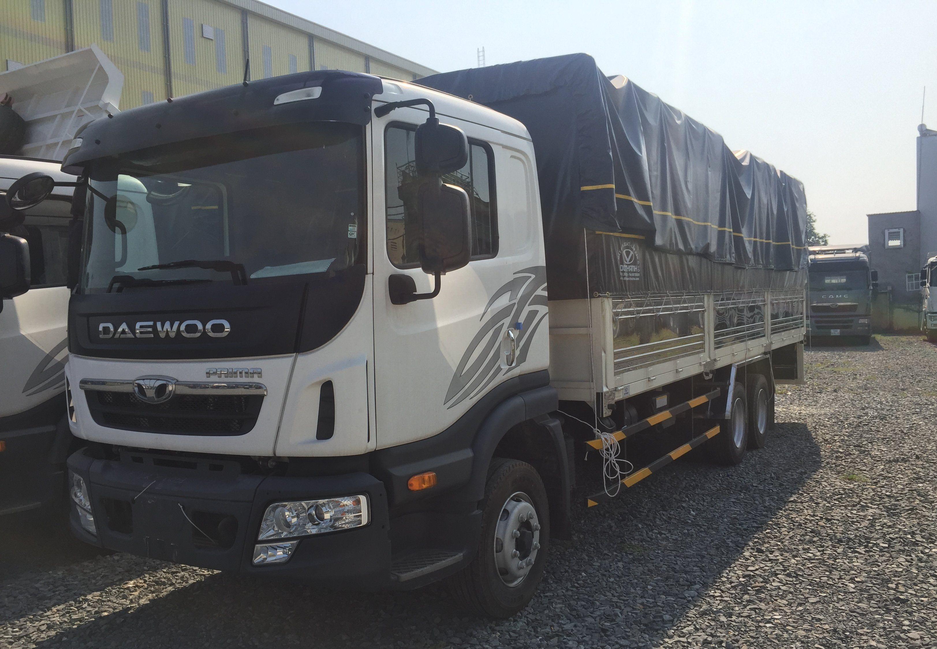 xe tải 3 chân Daewoo 15 tấn