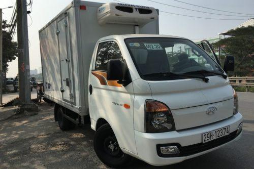 Hyundai porter 150 1,5 tấn thùng đông lạnh