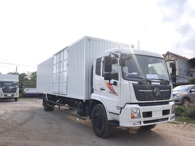 Đóng thùng xe tải Dongfeng theo yêu cầu