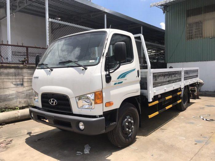 Hình ảnh xe Hyundai 110S thùng lửng 7 tấn.