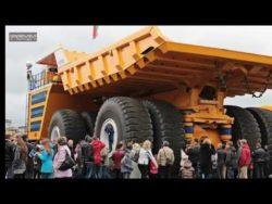 Những chiếc xe siêu to, xe tải lớn nhất thế giới