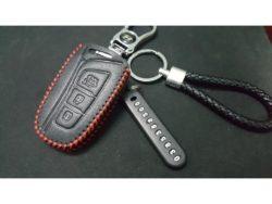 Bao da chìa khóa Hyundai Santafe