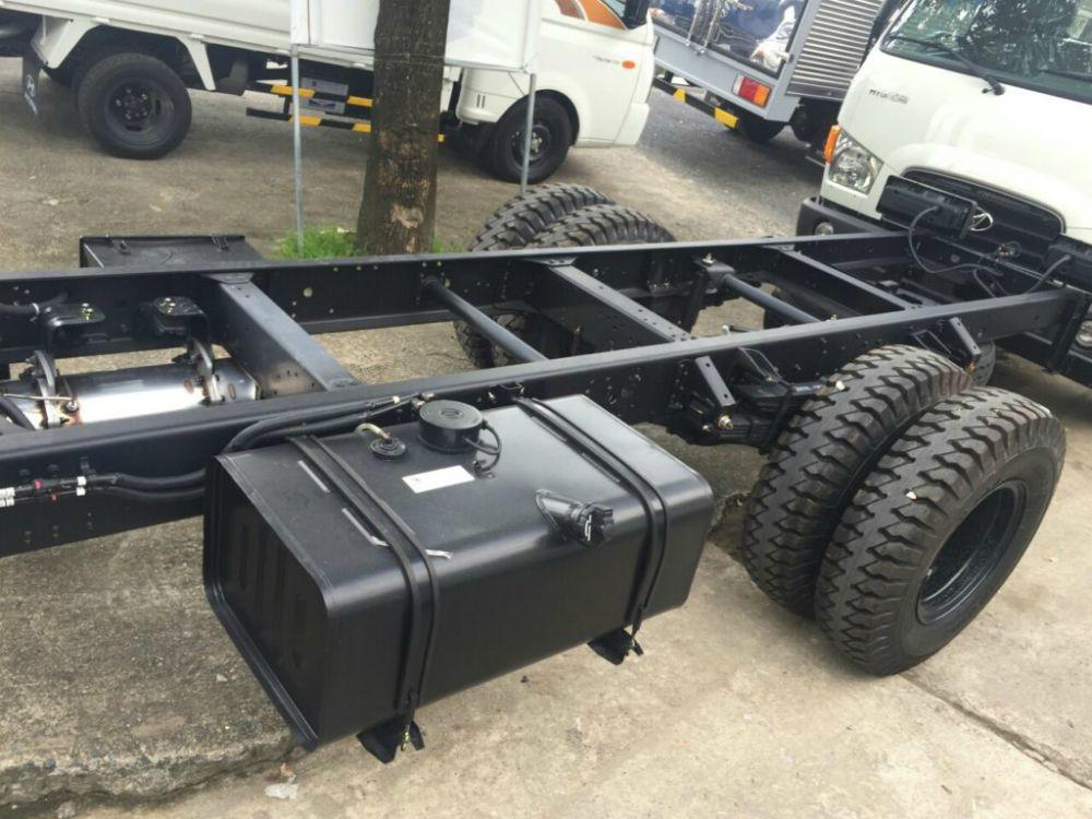 Hệ thống khung gầm xe tải Hyundai 110SP