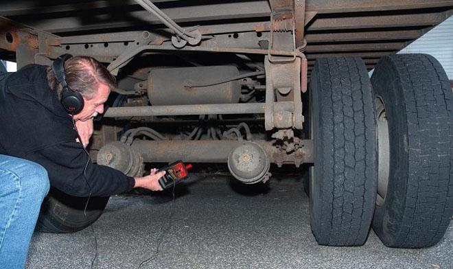 hệ thống phanh xe tải