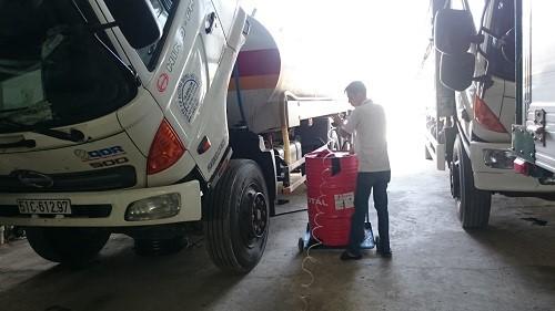 bảo dưỡng xe tải 5000km