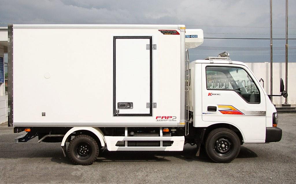 Giá xe tải thùng đông lạnh mới cập nhật
