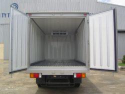 Những chú ý khi đóng thùng đông lạnh cho xe tải và các dòng xe tải đông lạnh đang thịnh hành tại Việt Nam
