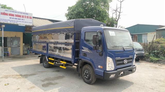 Hyundai New Mighty EX6 tải trọng 5 tấn
