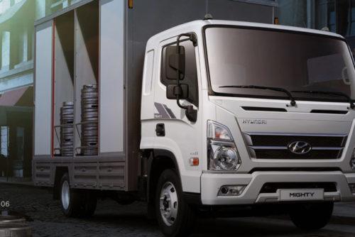 Hyundai New Mighty EX6 tải trọng 5 tấn mới về Việt Nam 2020