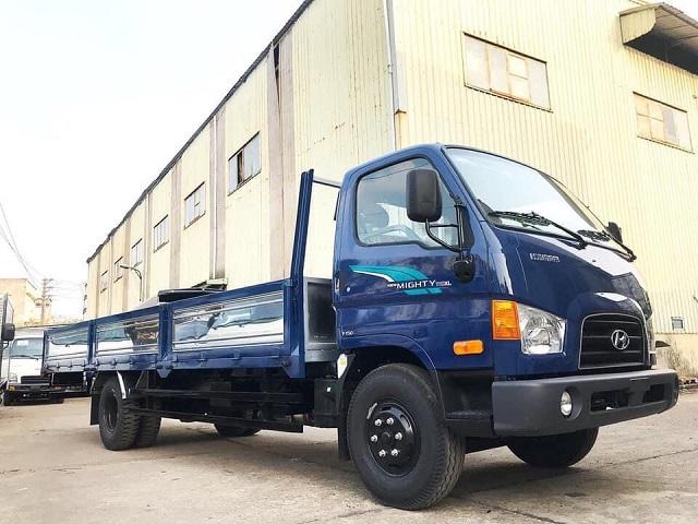 Hyundai 110XL thùng lửng