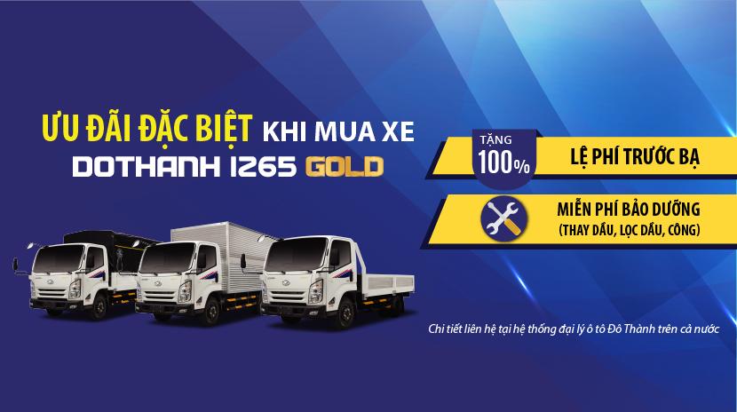 Chính sách khuyến mại mua xe tải đô thành IZ65