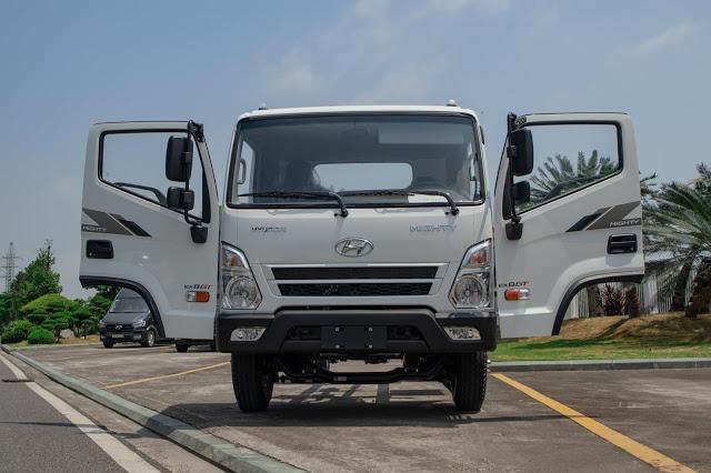 Ngoại hình Hyundai EX8 bản thiếu