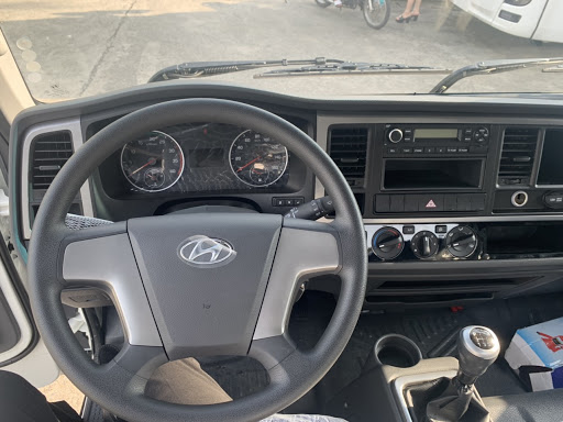 Nội thất Hyundai EX8 bản thiếu