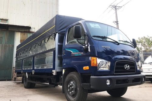 Hyundai 110XL thùng bạt inox 7 tấn