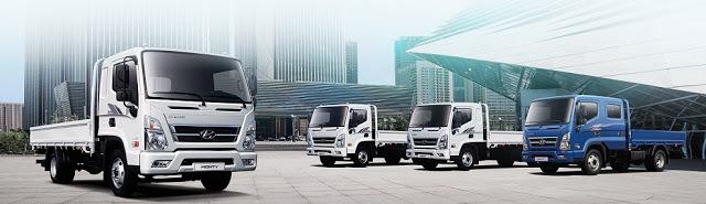 Báo giá lăn bánh các loại xe tải Hyundai