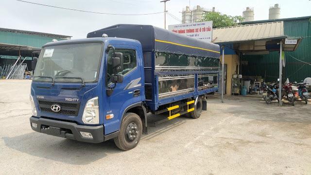 Giá lăn bánh xe tải Hyundai EX6 thùng bạt