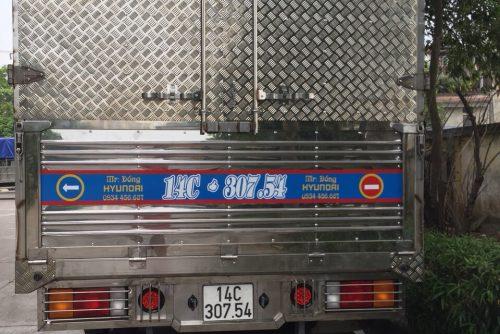 Hyundai EX8 thùng mui bạt 8 tấn