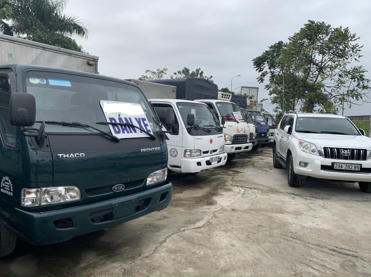 Chợ mua bán xe tải cũ Long Biên Hà Nội