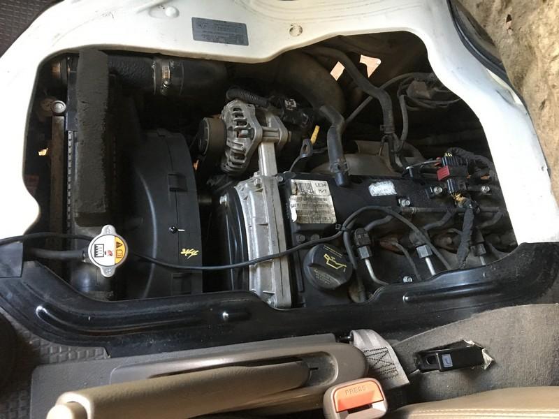 Động cơ xe H150 đông lạnh