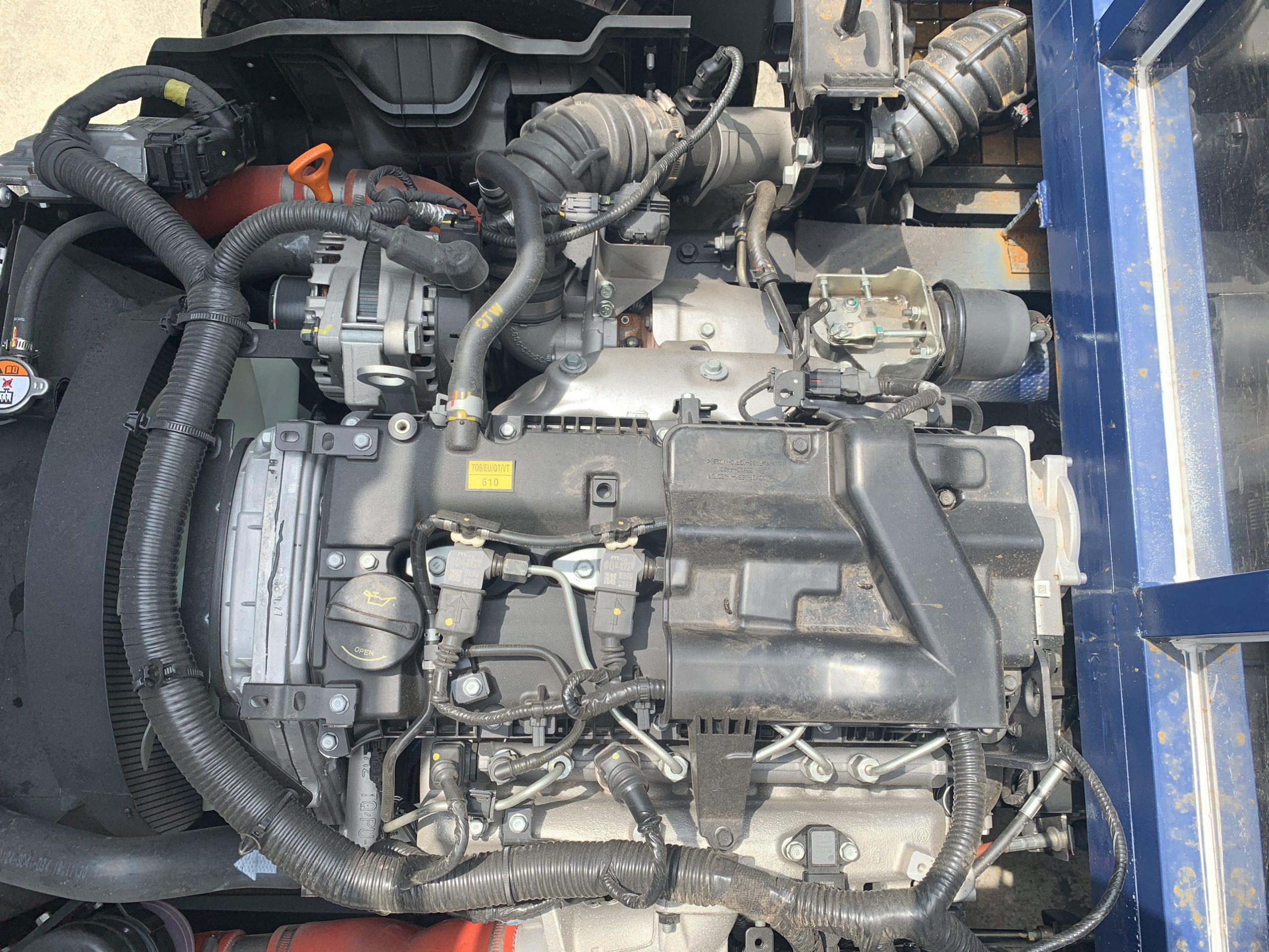Động cơ xe tải N250SL thùng bạt