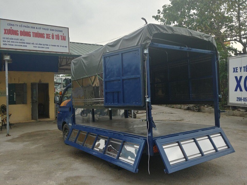 Hyundai Porter H150 thùng bạt 1.5 tấn