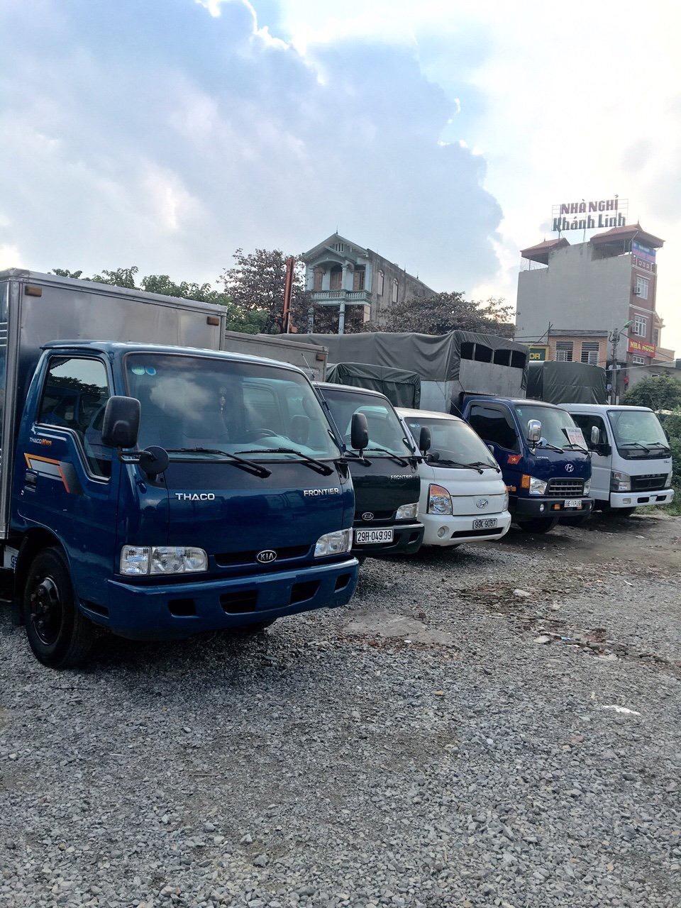 Mua bán xe tải cũ tại Hưng Yên