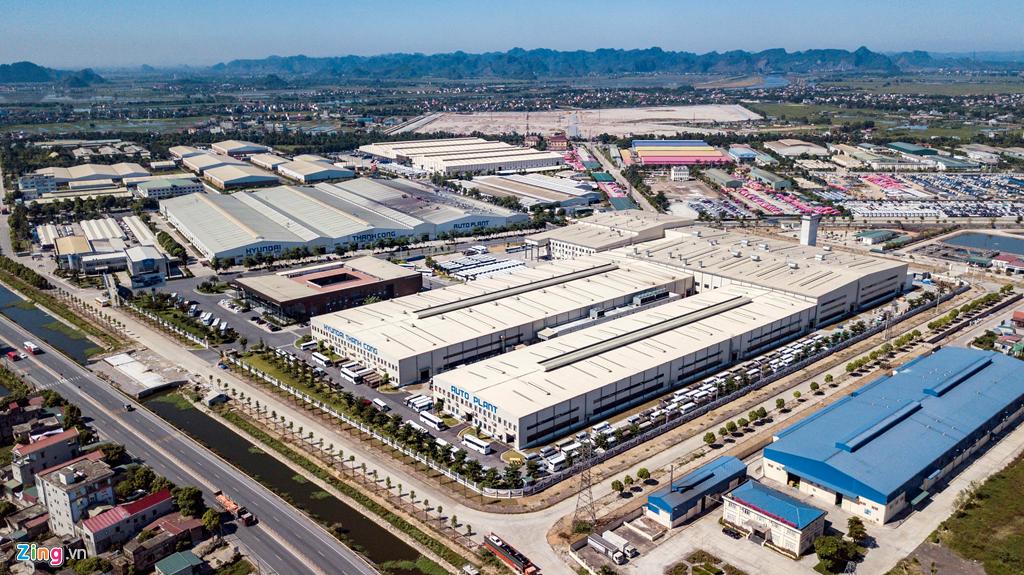 Nhà máy lắp ráp xe tải Hyundai Thành Công