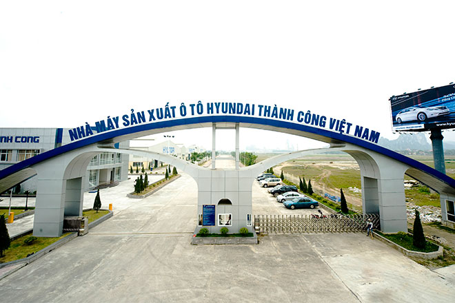 nhà máy xe tải Hyundai thành công
