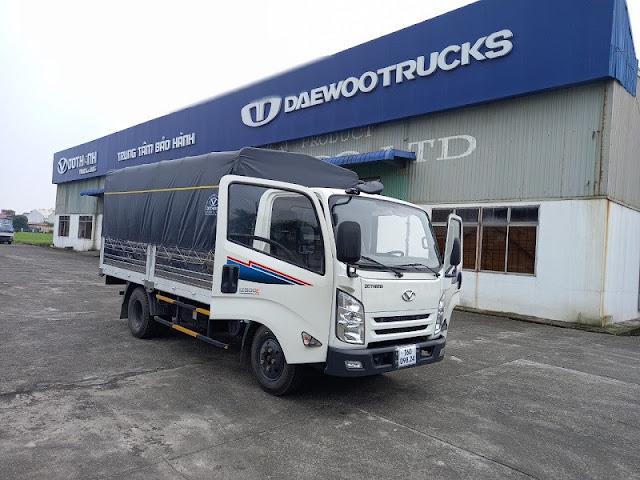 Xe tải Đô Thành IZ500 thùng bạt