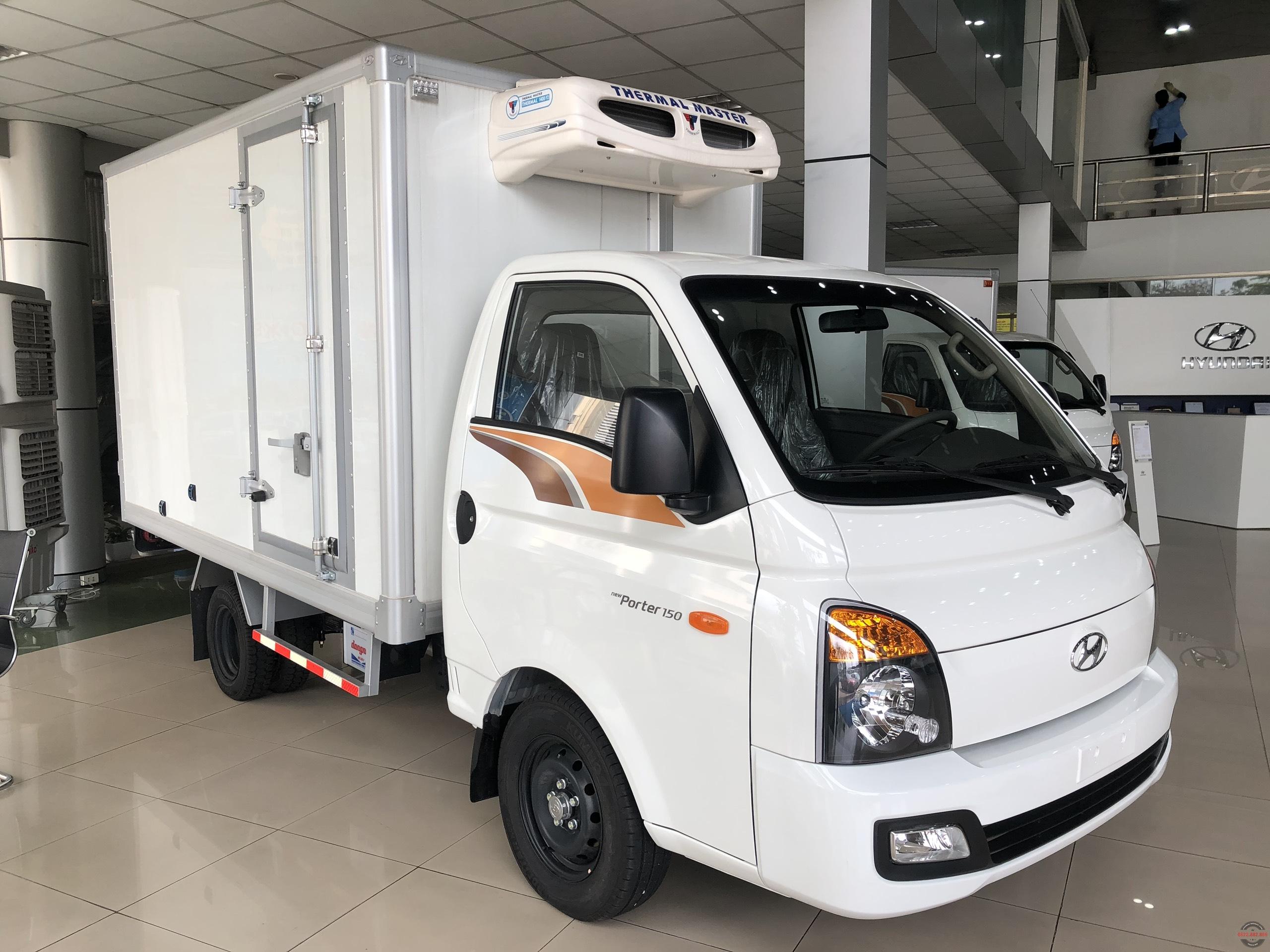 Hyundai Porter H150 đông lạnh 1.25 tấn