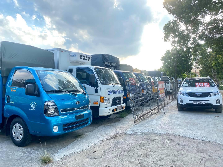 Bán xe tải 2.5 tấn cũ tại Bắc Ninh