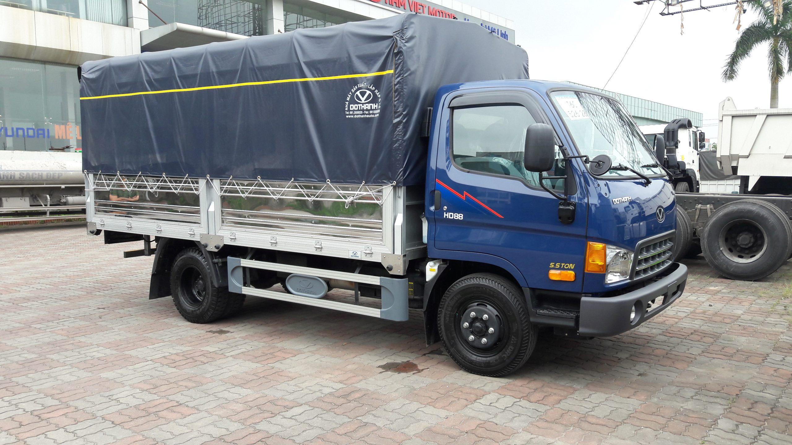 Bán xe tải 5 tấn cũ ở Thái Bình