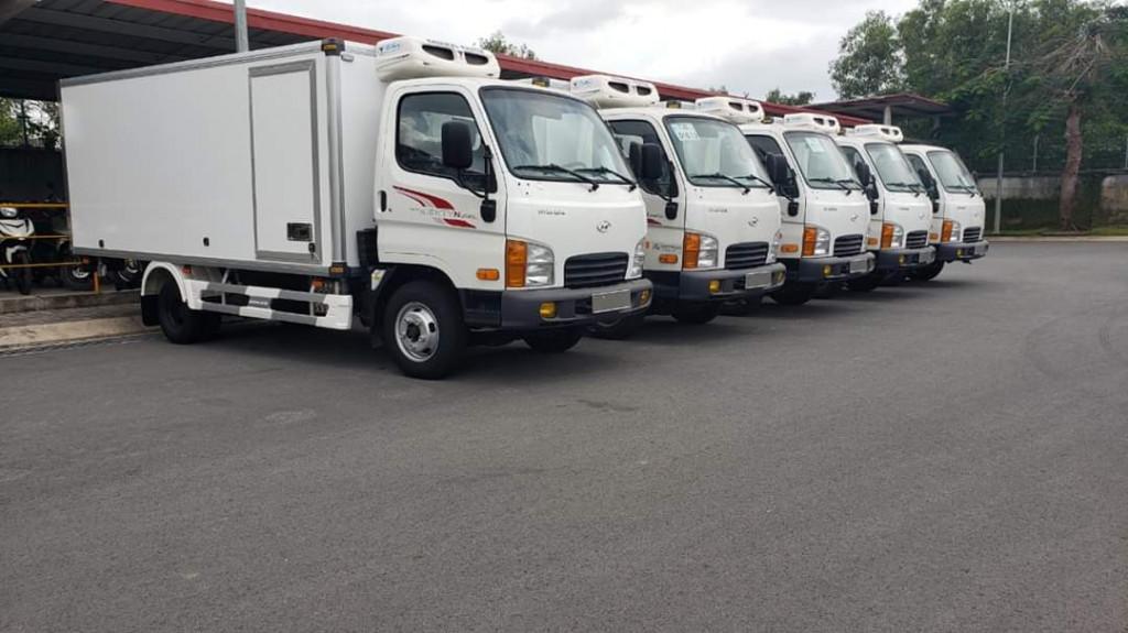 Giá xe tải đông lạnh Hyundai
