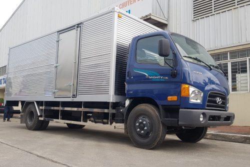 Xe tải 7 tấn New Mighty 110SL thùng kín