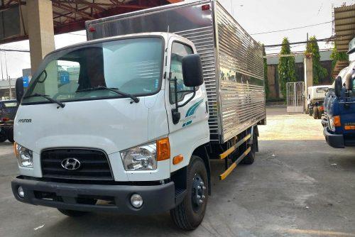 Hyundai New Mighty 110SP thùng kín 7 tấn