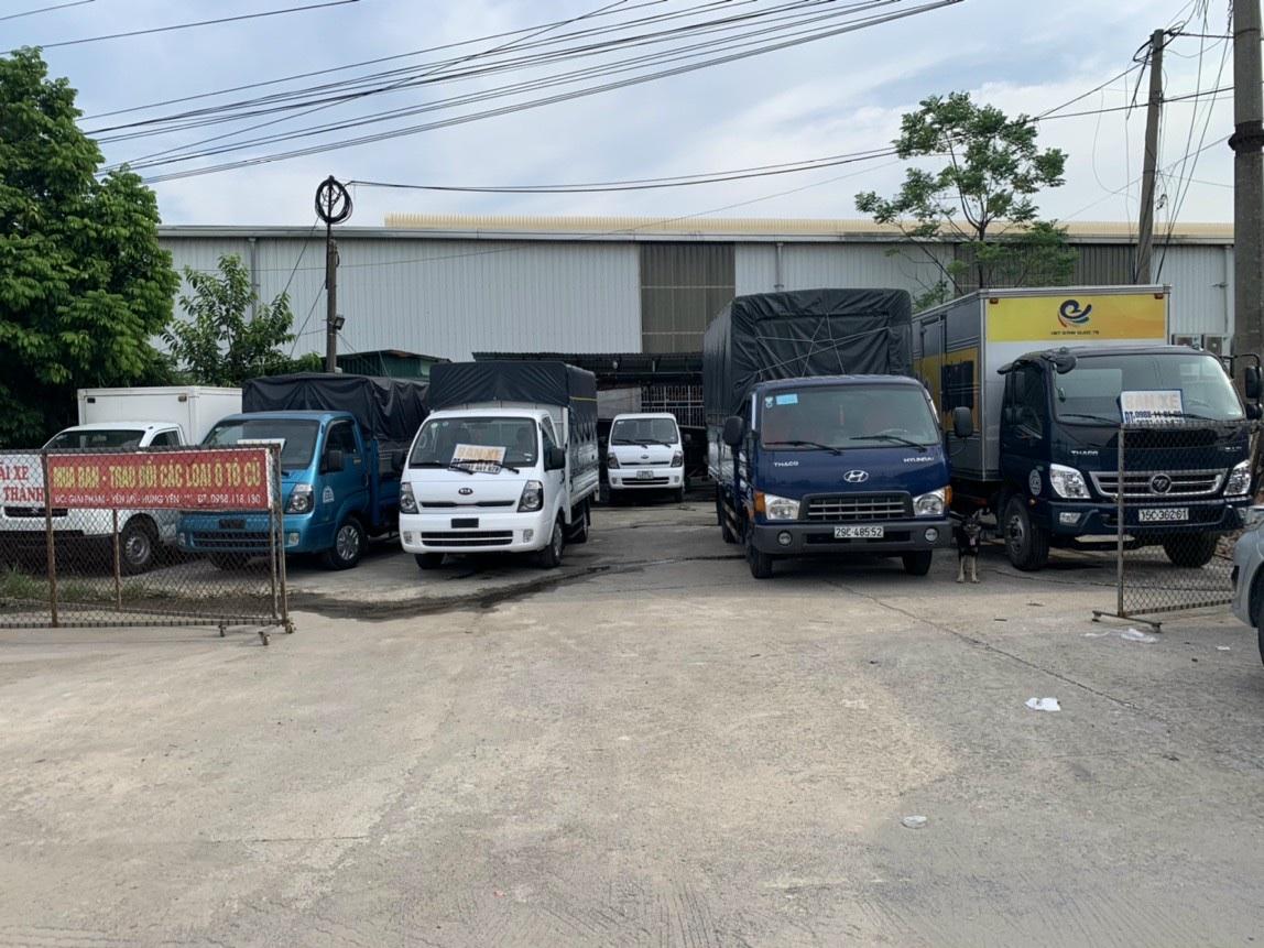 Mua bán ô tô tải cũ tại Hải Dương