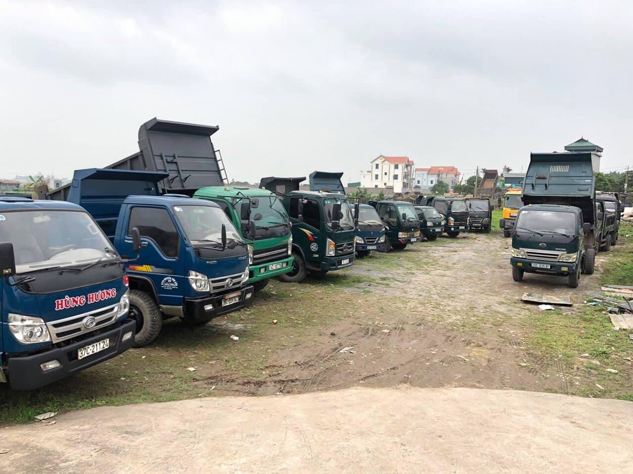 Mua bán xe ben cũ tại Quảng Ninh