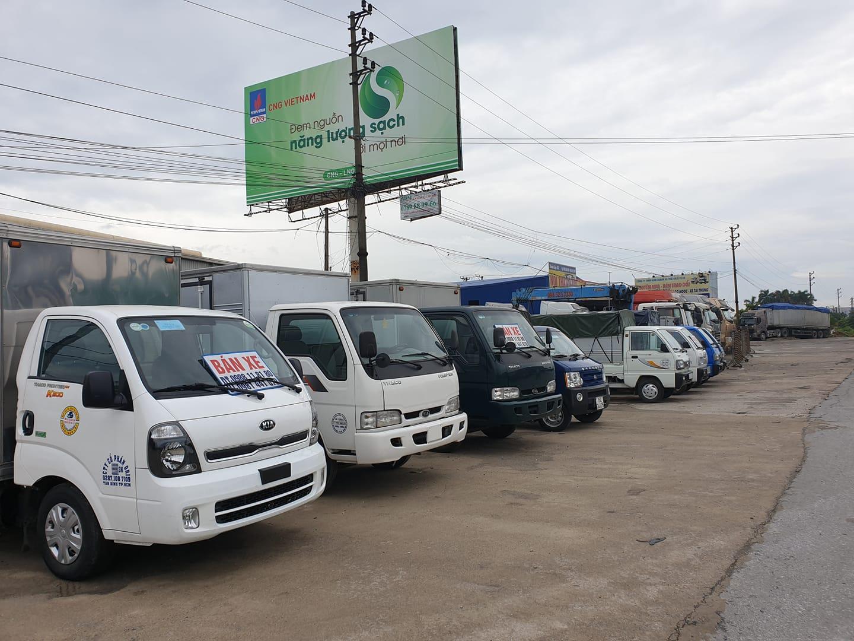 Mua bán xe ô tô tải cũ giá cao tại Bắc Ninh