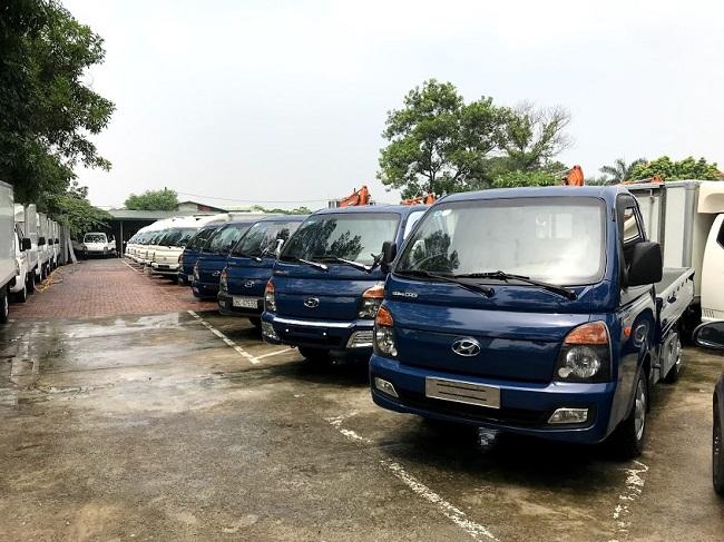 Mua bán xe tải 1 tấn cũ ở Vĩnh Phúc