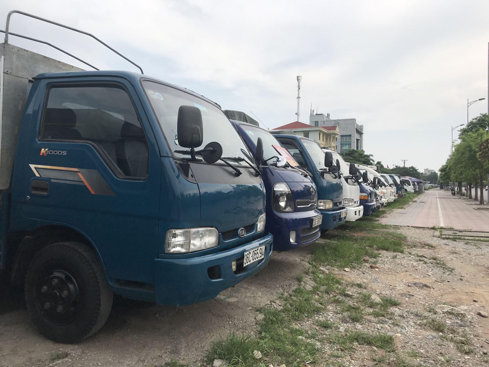 Mua bán xe tải cũ ở Vĩnh Phúc