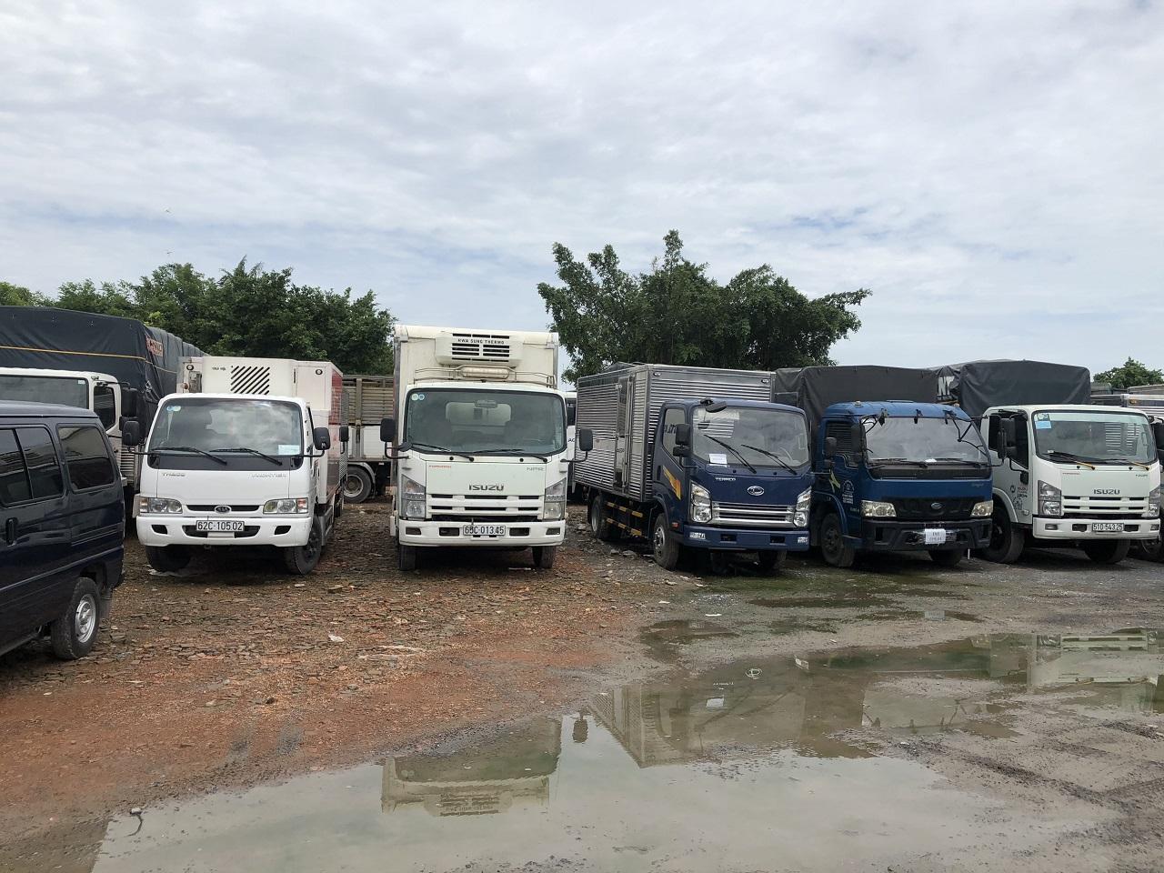 Mua bán xe tải cũ tại Hải Phòng
