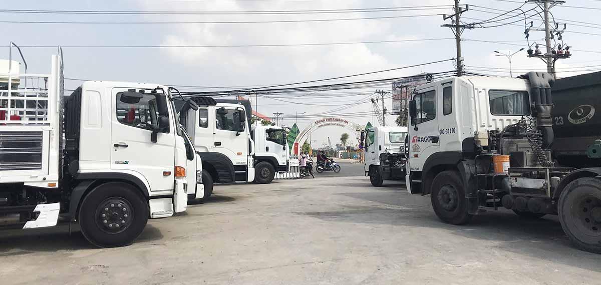Mua bán xe tải cũ tại Sơn La
