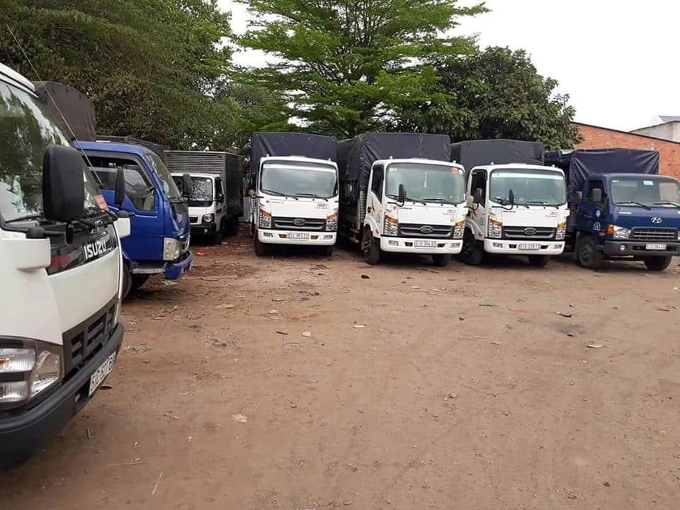 Mua bán xe tải cũ tại Thái Nguyên