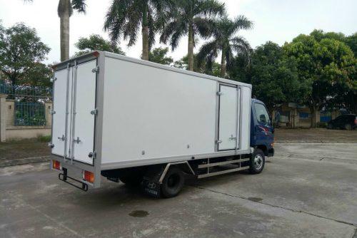 New Mighty N250SL thùng Composite bảo ôn