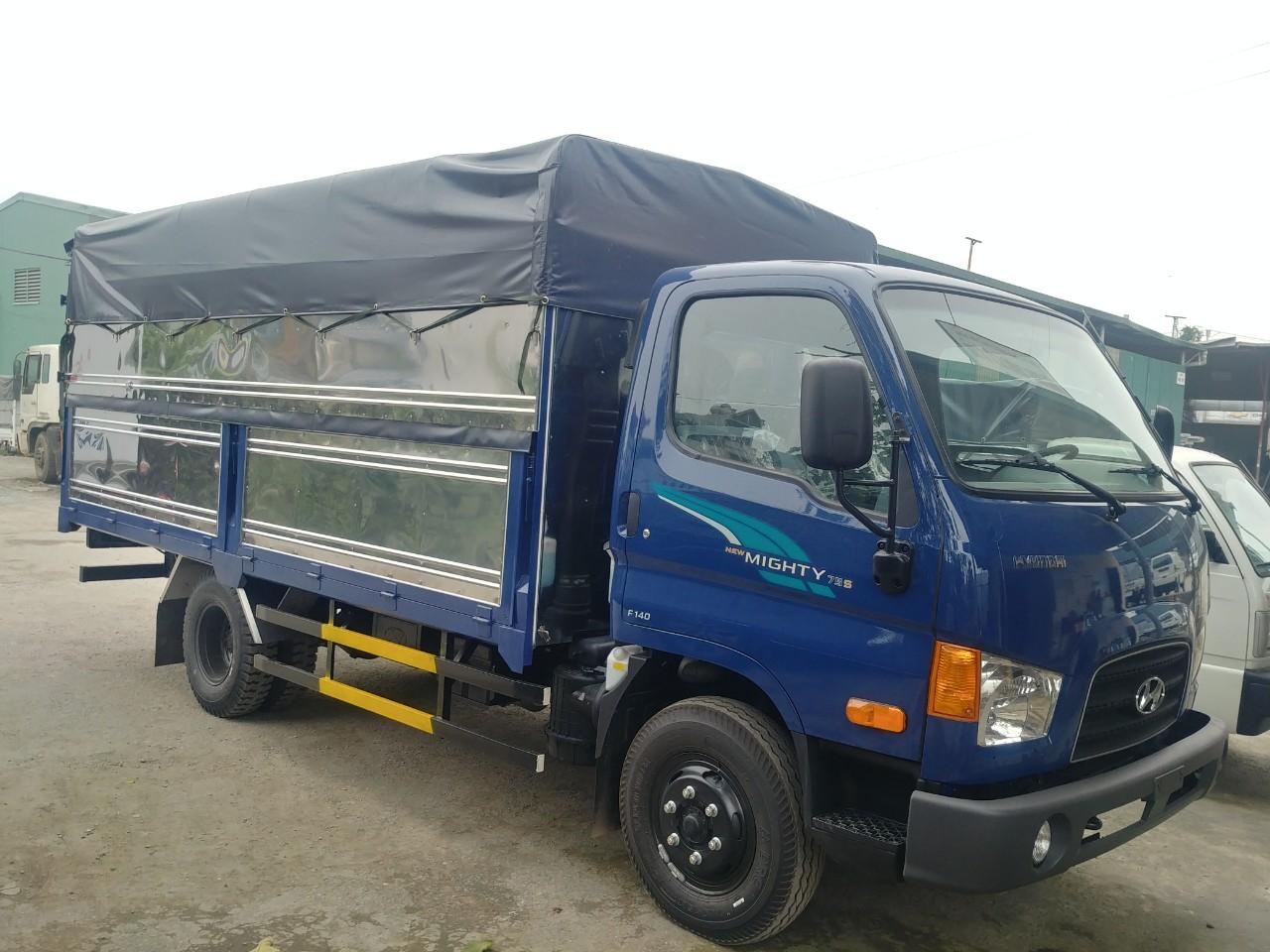 Xe tải 3.5 tấn thùng bạt Hyundai 75s