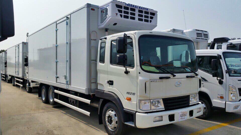 xe tải đông lạnh 14 tấn hyundai HD240