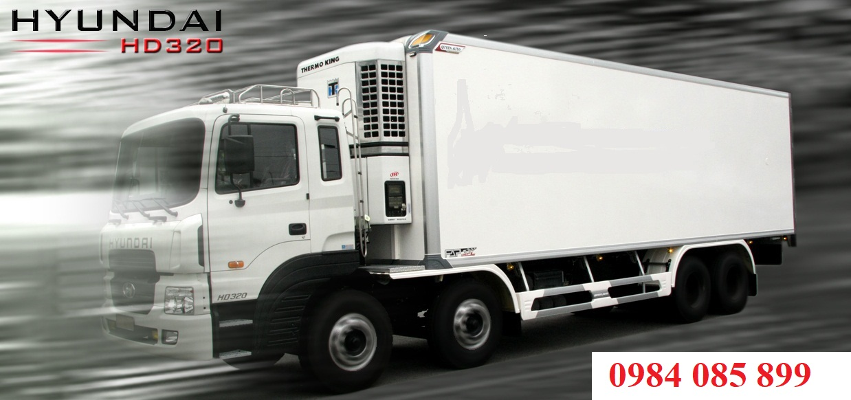 xe tải đông lạnh 18 tấn Hyundai HD320